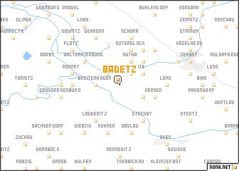 map of Badetz