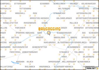 map of Bad Gögging