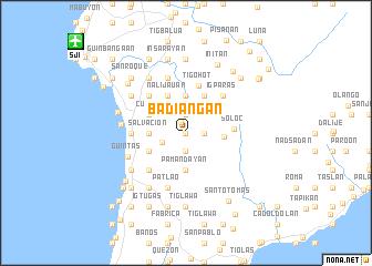 map of Badiangan