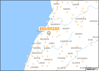 map of Badiangan