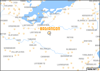map of Badiangon