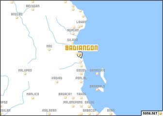 map of Badiangon