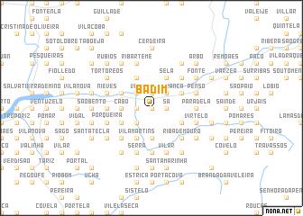 map of Badim