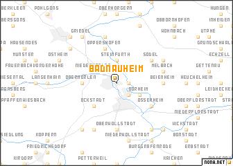 Bad Nauheim (Germany) map   nona.net