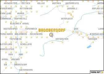 map of Bad Oberdorf