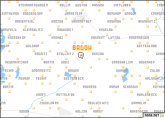 map of Badow