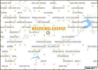 map of Bad Reiboldsgrün