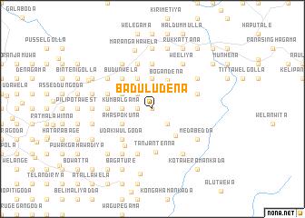 map of Baduludena