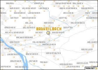 map of Bad Weilbach