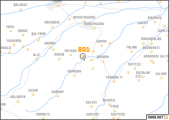 map of Bad