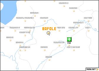 map of Bafolé