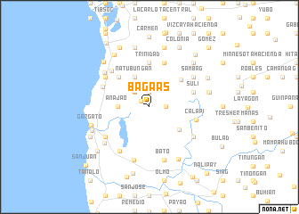map of Bagaas
