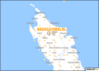 map of Bagaguimbal