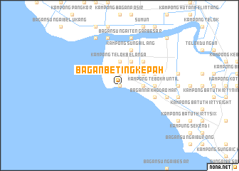 Bagan Beting Kepah (Malaysia) map - nona net