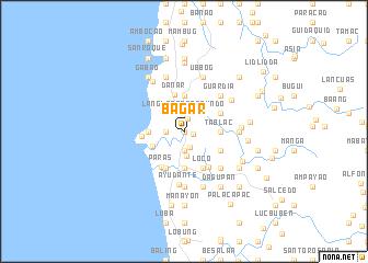 map of Bagar