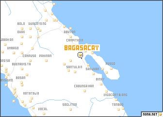 map of Bagasacay