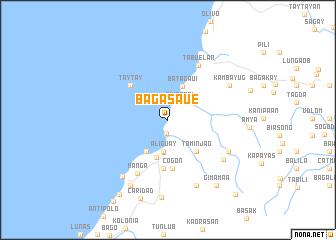 map of Bagasaue