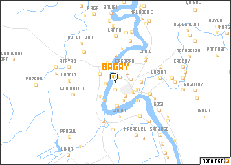 map of Bagay