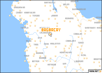map of Bagbacay