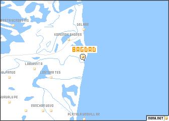 map of bagdad