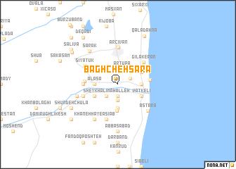 map of Bāghcheh Sarā