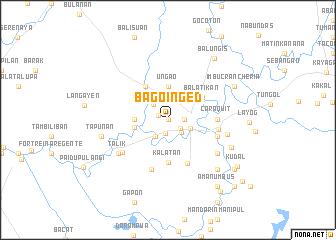 map of Bago-Inged
