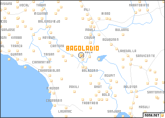 map of Bagoladio