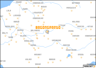 map of Bag-ong Pardo