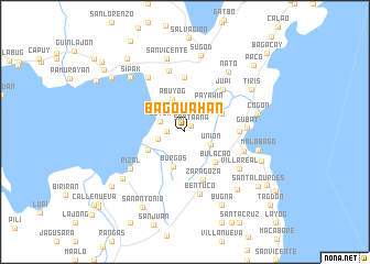 map of Bagouahan