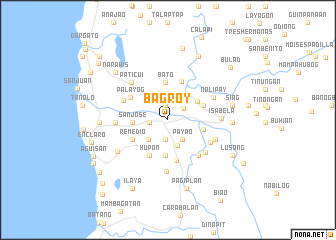 map of Bagroy