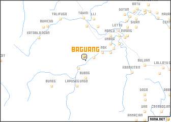map of Baguang