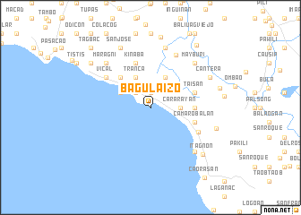 map of Bagulaizo