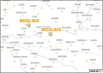 map of Bagulaka