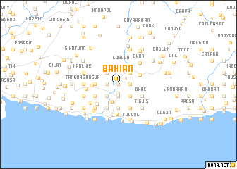 map of Bahian
