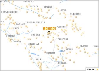 map of Bahori