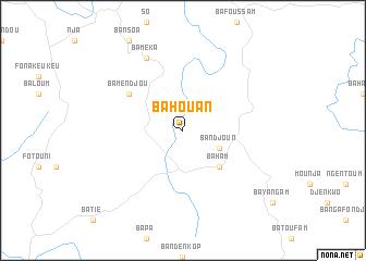 map of Bahouan