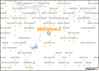 map of Bahramühle