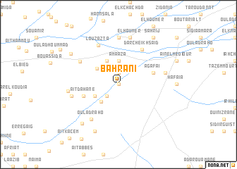 map of Bahrani