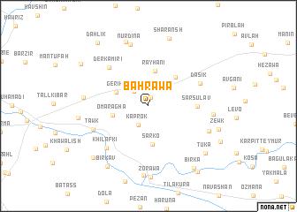 map of Bahrawā