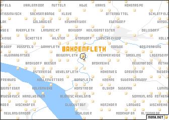 map of Bahrenfleth
