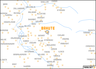 map of Bahutë
