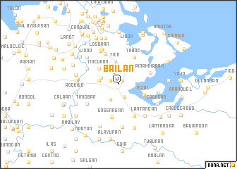 map of Bailan