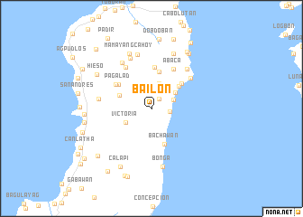 map of Bailon