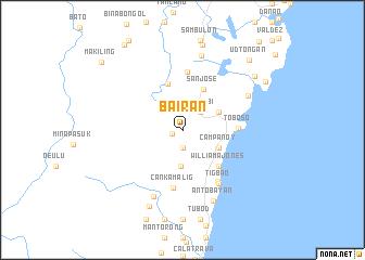 map of Bairan