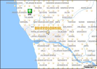 map of Bairro do Amial
