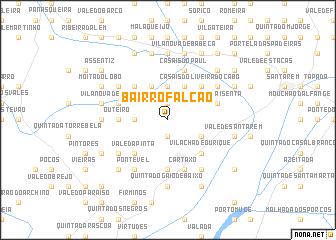 map of Bairro Falcão