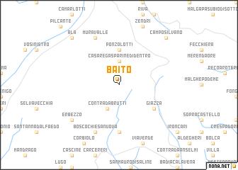 map of Baito