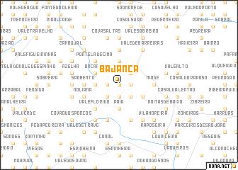 map of Bajanca
