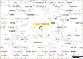 map of Bajervek