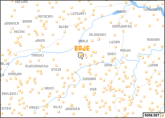 map of Baje